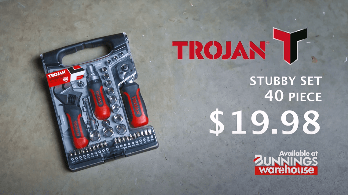 Trojan Tools 40 Pc Stubby Set